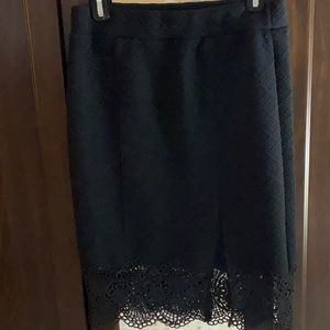 Free people skirt with slit size small